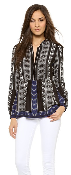 Twelfth St. by Cynthia Vincent silk blouse- $34.99 (was $285)