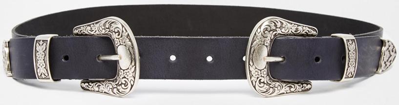 Asos Double Buckle belt- $34