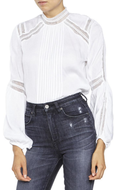 "Bardot ""Evita"" blouse- $27 (was $79)"