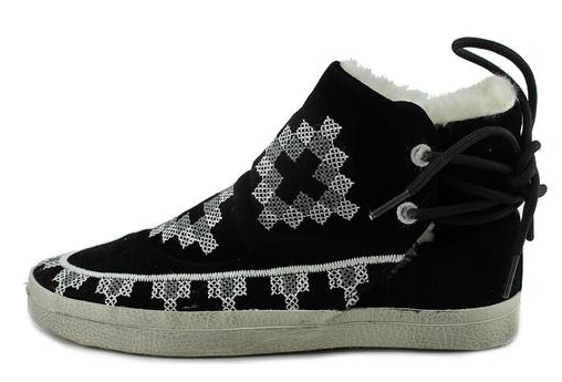 "Kim & Zozi ""Native"" embroidered sneaker- $32 after 20% off code (was $139)"