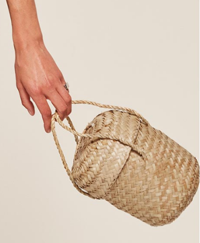 Doen Phoebe Moroccan Basket Bag - $38