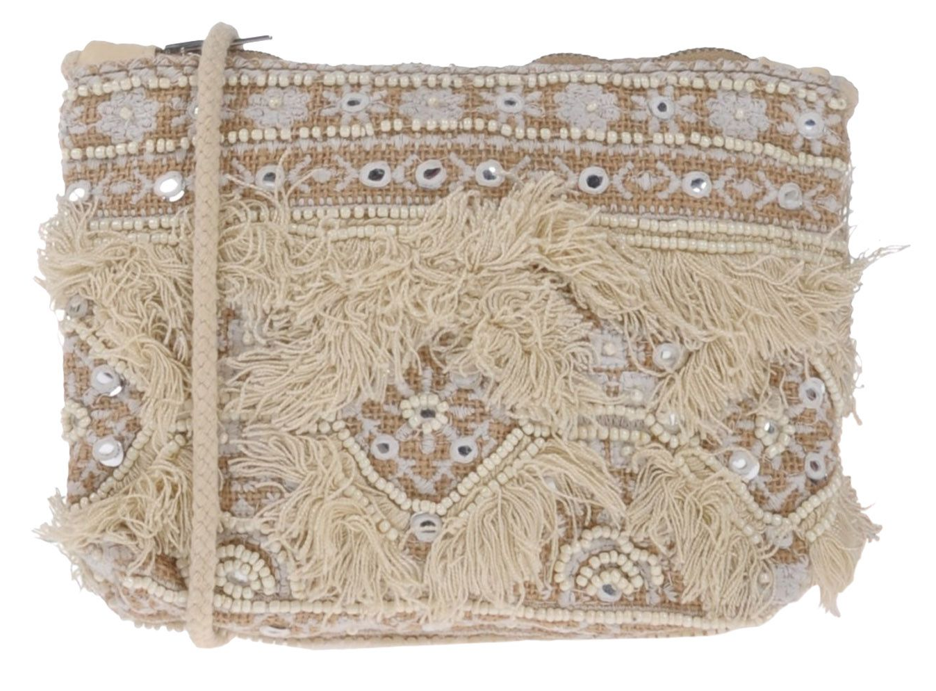 Antik Batik Embroidered Bag - $48