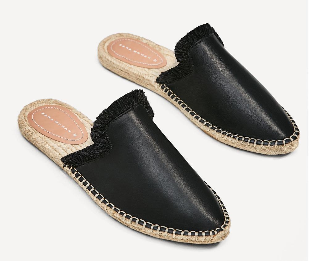 Zara mule espadrille - $49.99