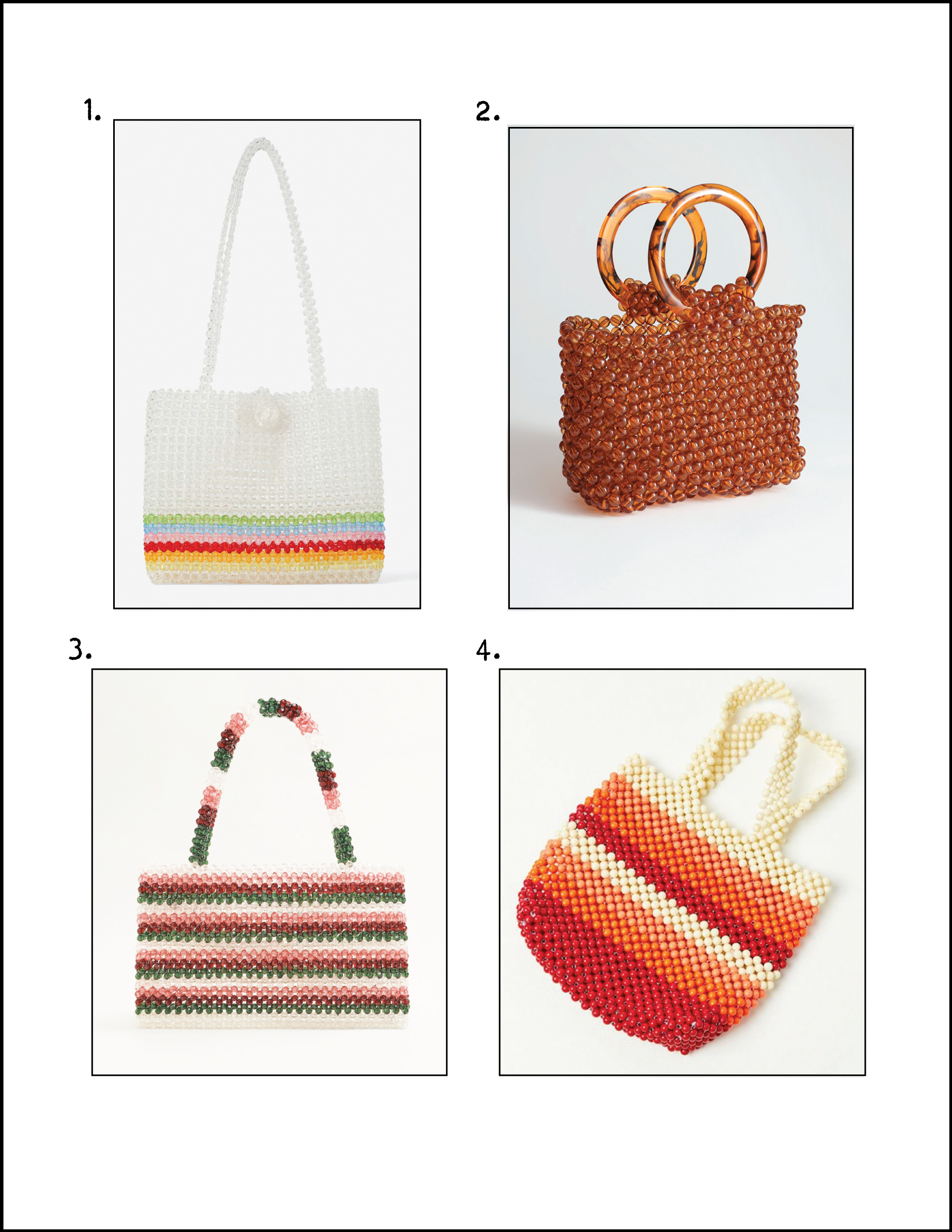 1.   Zara  , 2.   & Other Stories  , 3.   Mango  , 4.   Urban Outfitters