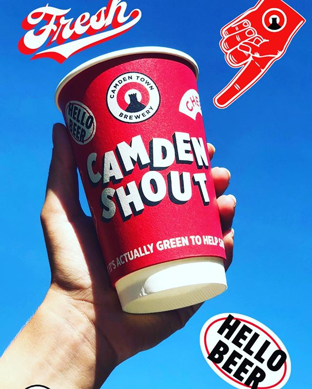 TOMORROW TOMORROW! 🍻 🍻  Are you ready for some fun with @camdentownbrewery. Lots of treats to be had...7pm. Be there 😈 #camdenshout