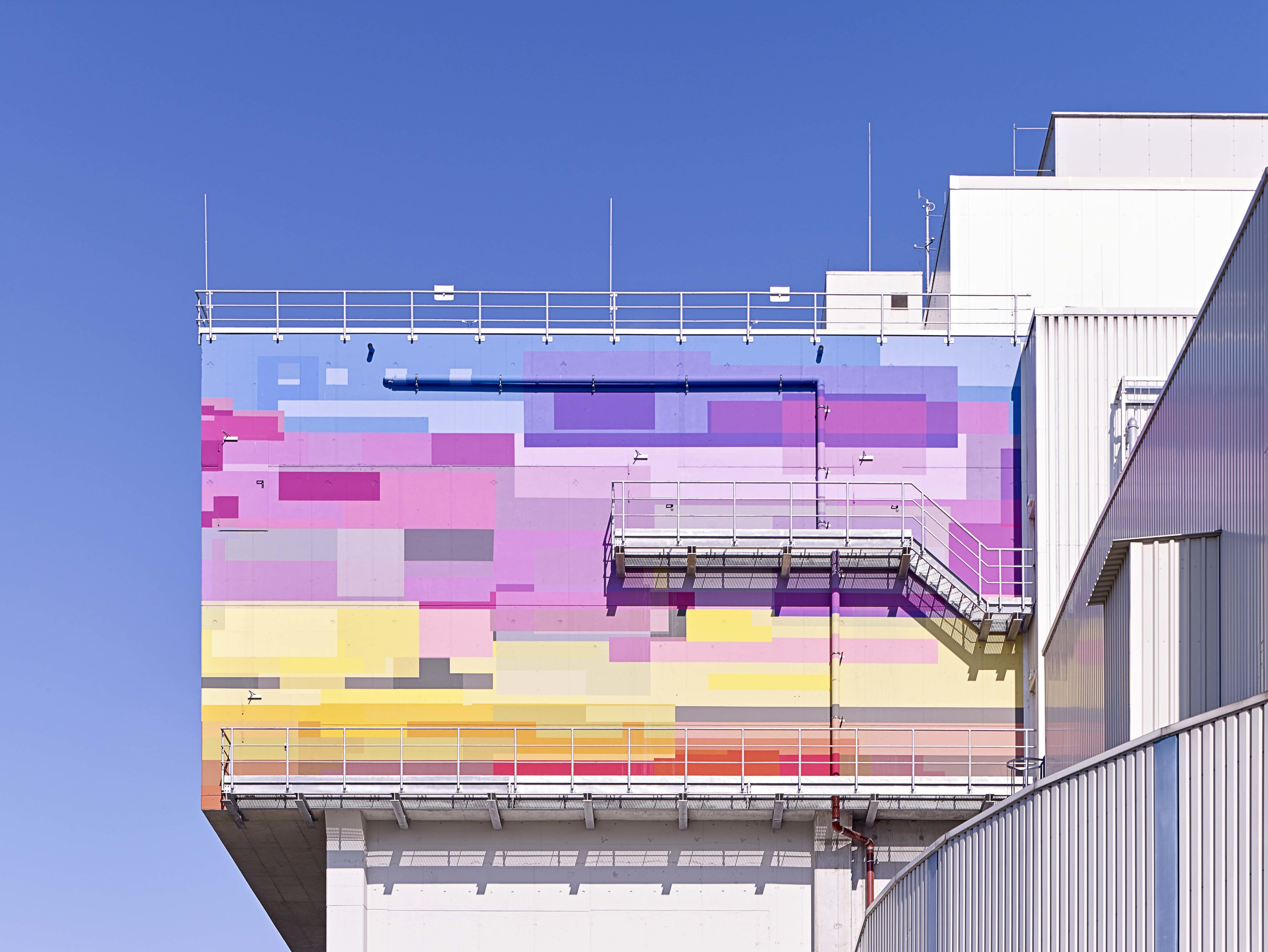 Wandbild Kraftwerk