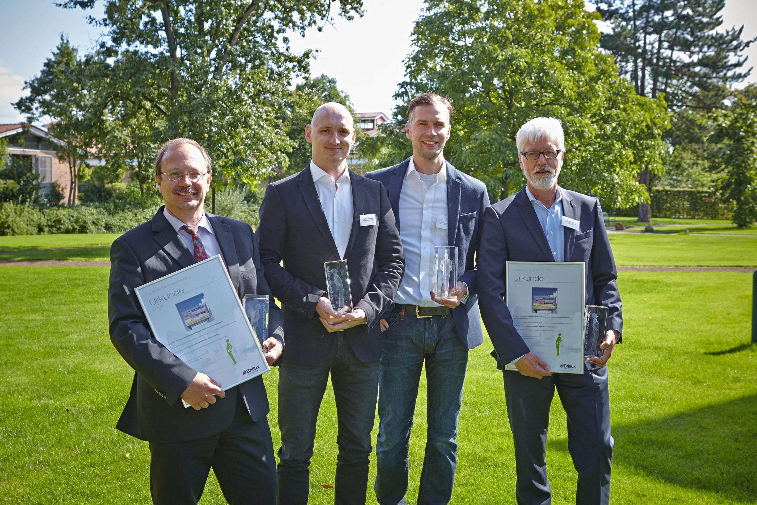 Brillux  Deutscher Fassadenpreis 2015 / Markus Hillegaart, Thomas Strauss