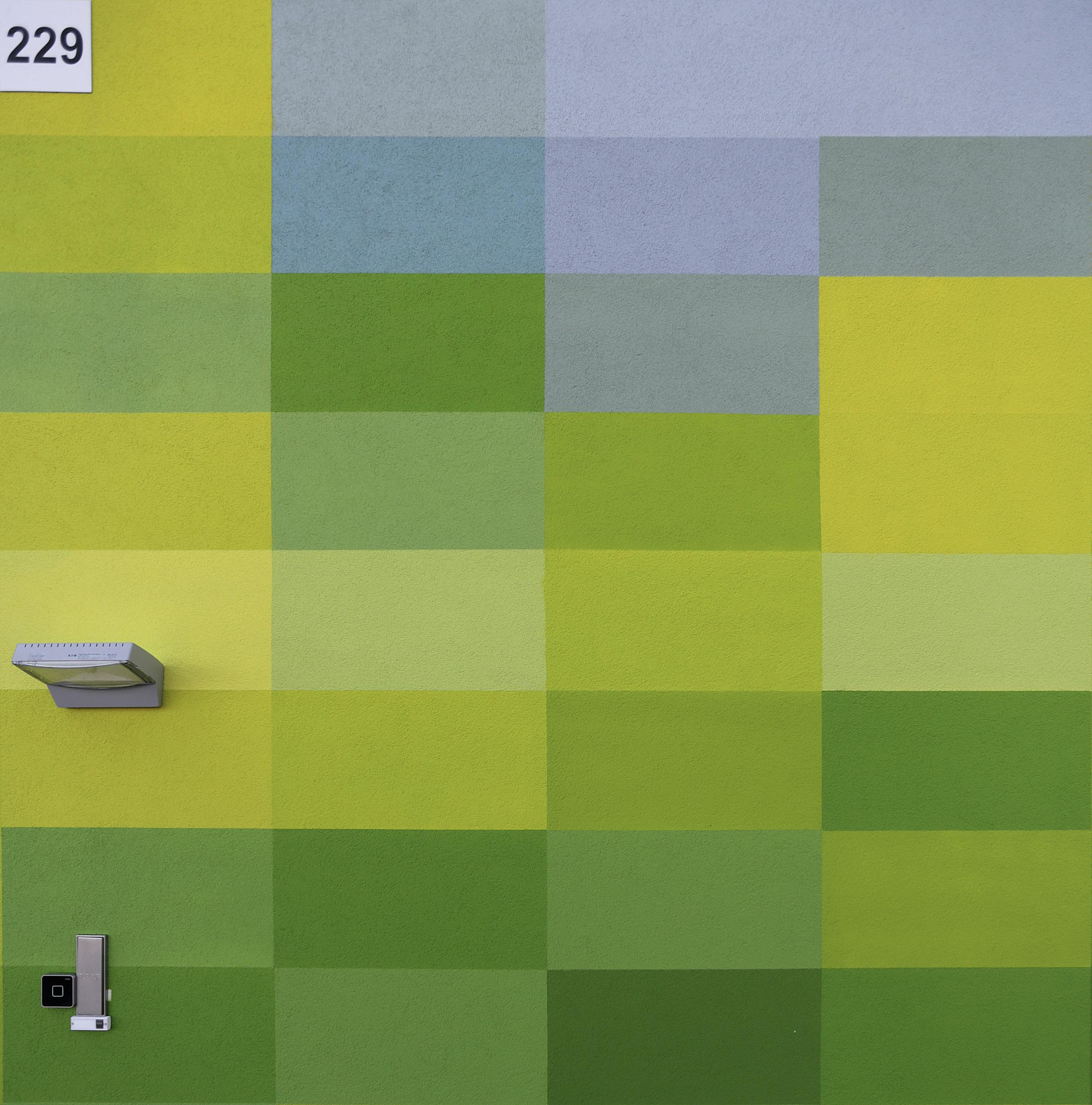 Wandmalerei-pixel-putz-fassade
