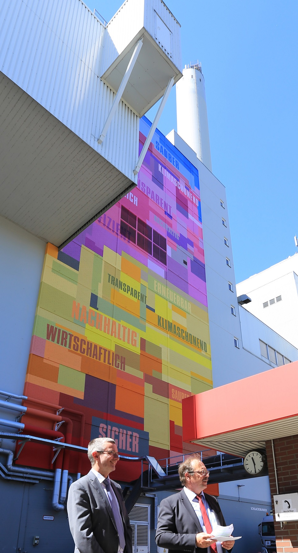 GML_Ludwigshafen_Wandbild_Fassadenbild_Industrie