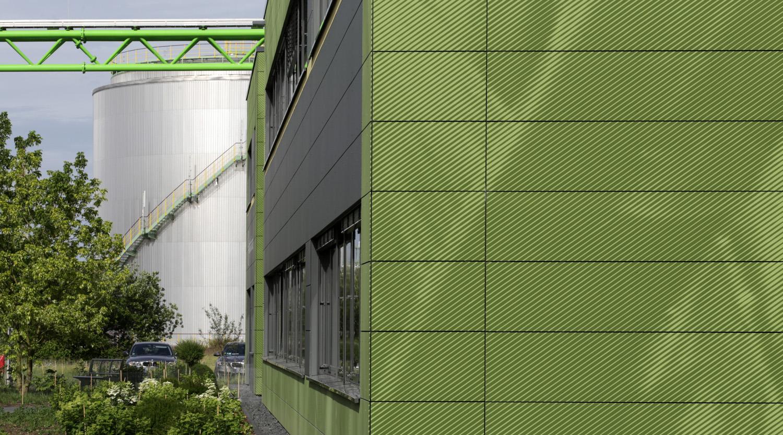 Bayer_Betriebszentrale_Dormagen_Fassadenbild_Grafik_Design