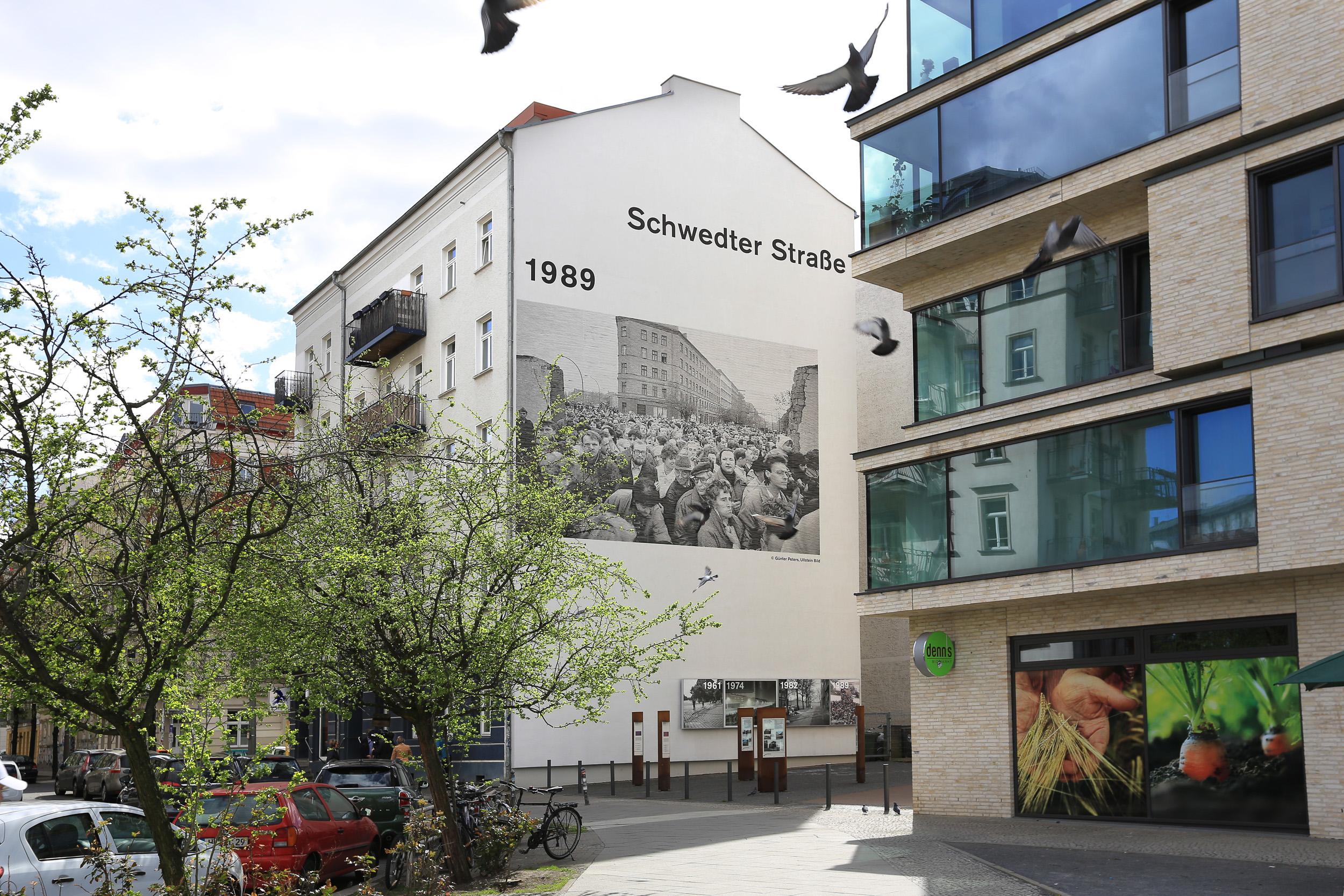Fassadengestaltung auf Putz & Beton -