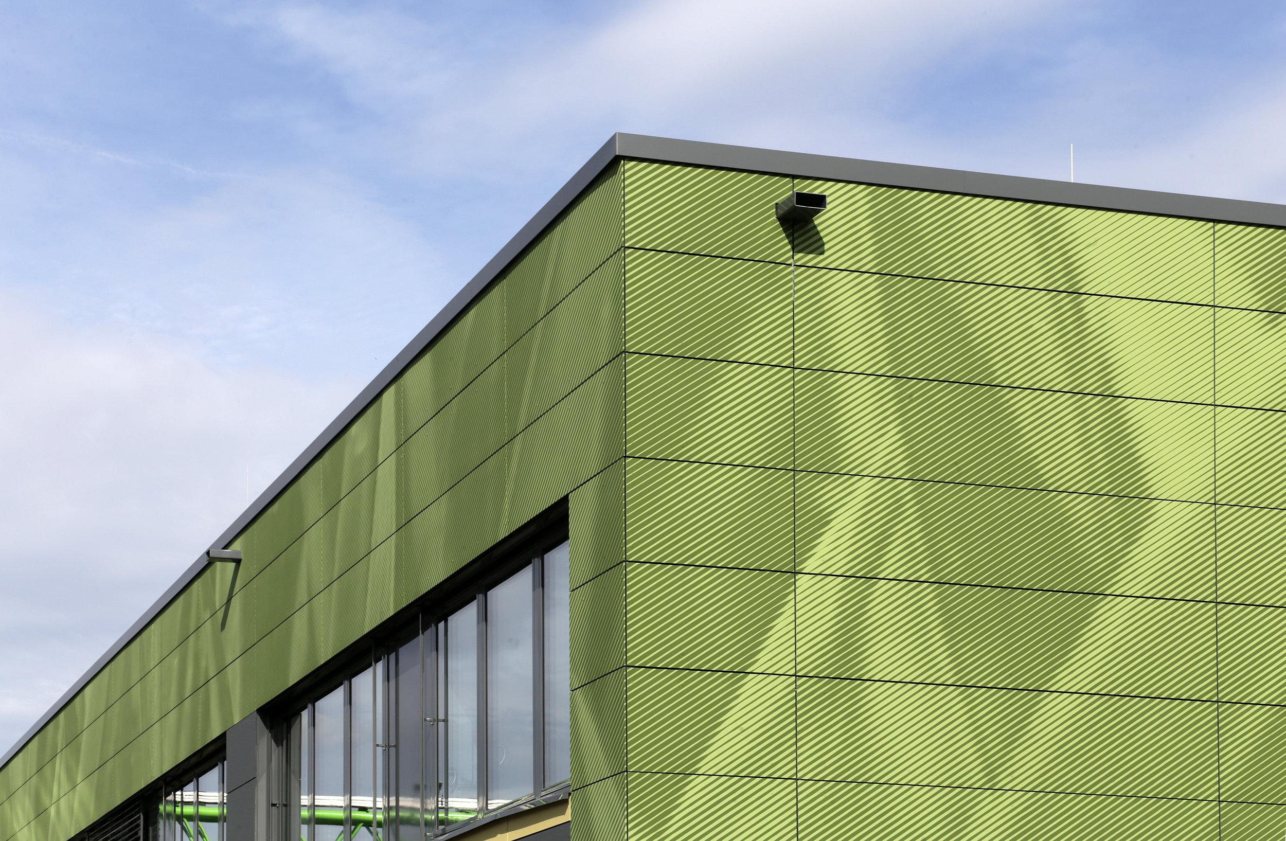 Fassaden in der Industrie -