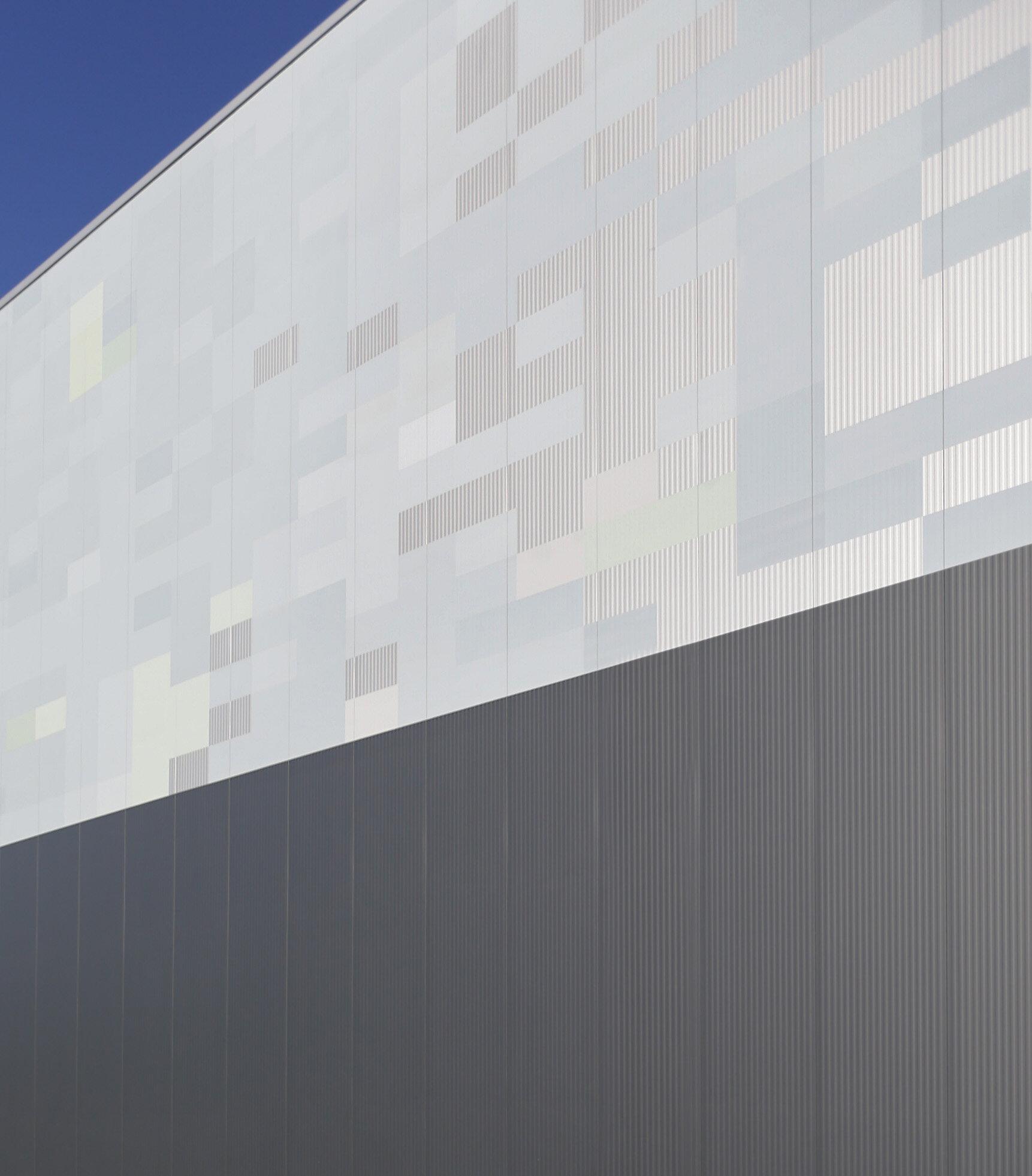 Lagerhalle Fassade Sandwichprofil