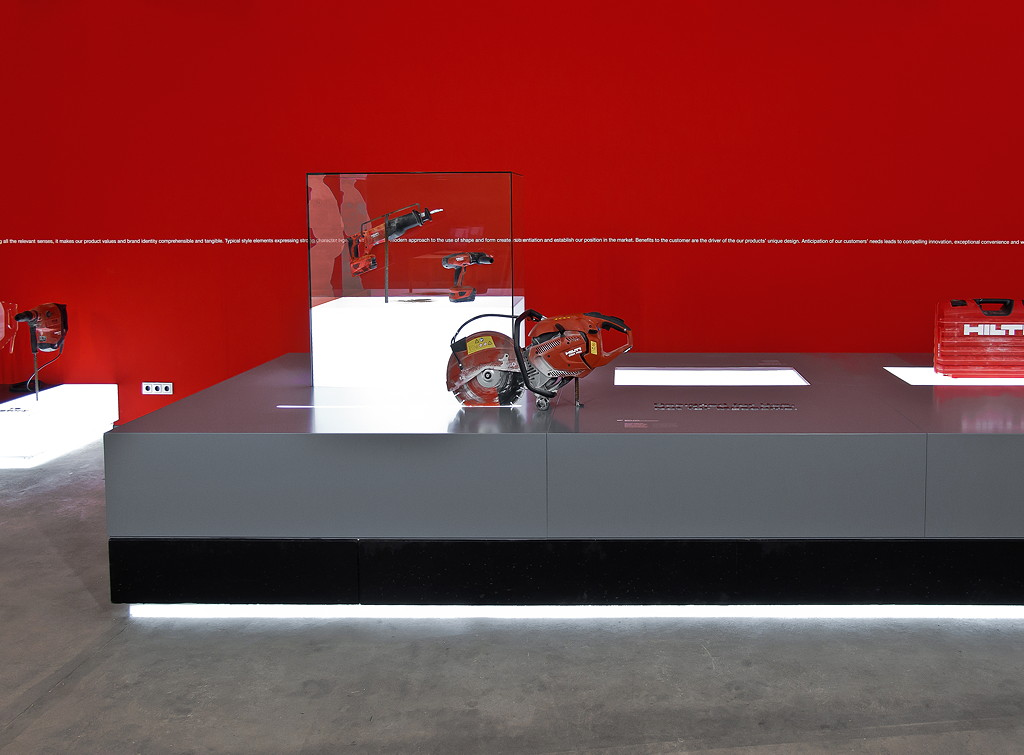 Hilti Brandworld | Hilti im Red Dot Museum |  Triad Berlin