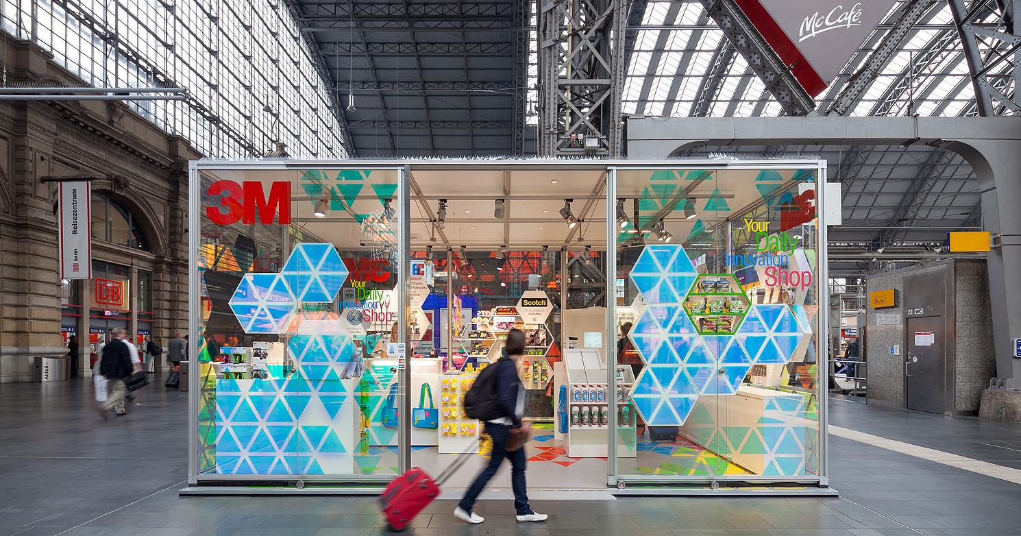 3M Popup Store |  Uniplan