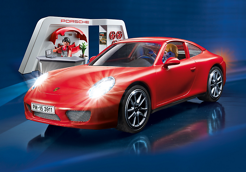 Porsche 911 Carrera S (Playmobil Set 3911)