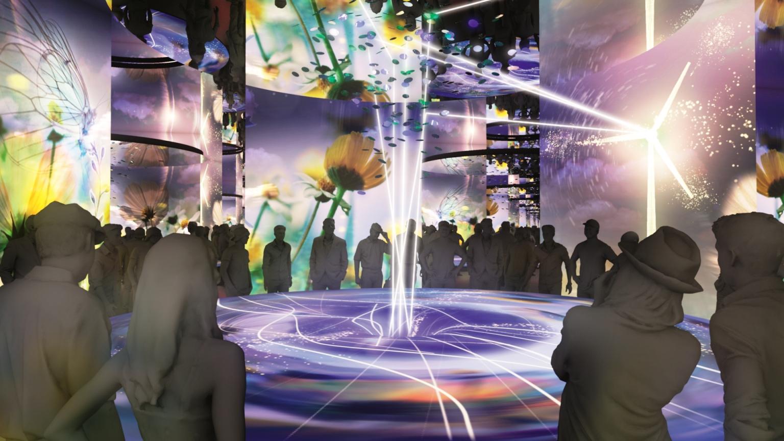 """Die finale """"Main Show"""", entstanden in Zusammenarbeit mit  Tamschick Media+Space ."""