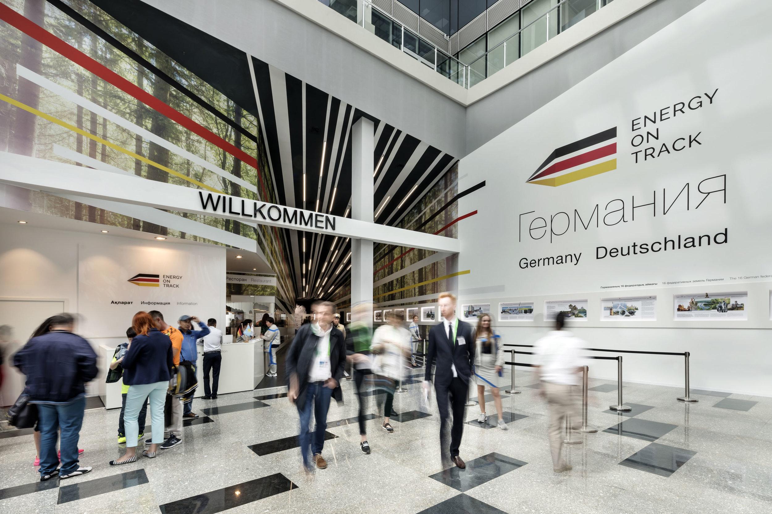 Deutscher Pavillon | EXPO 2017 Astana |  insglück  zusammen mit gtp2 und mac