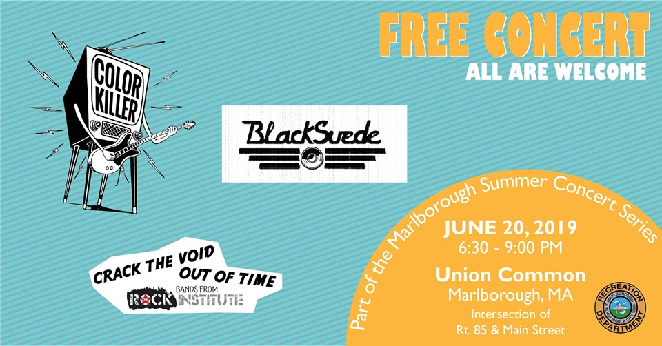 The Rock Institute Bands @ the Marlborough Summer Concert Series