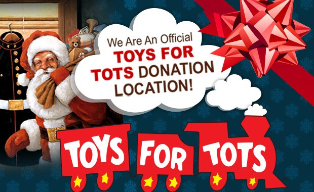 We are currently running our annual Toys for Tots drive. Please purchase a new toy(s) for a girl or boy up to the age of 12. Drop off the new, unwrapped toy by December 13th. Don't miss out on the opportunity to make a child happy for the holiday!!!