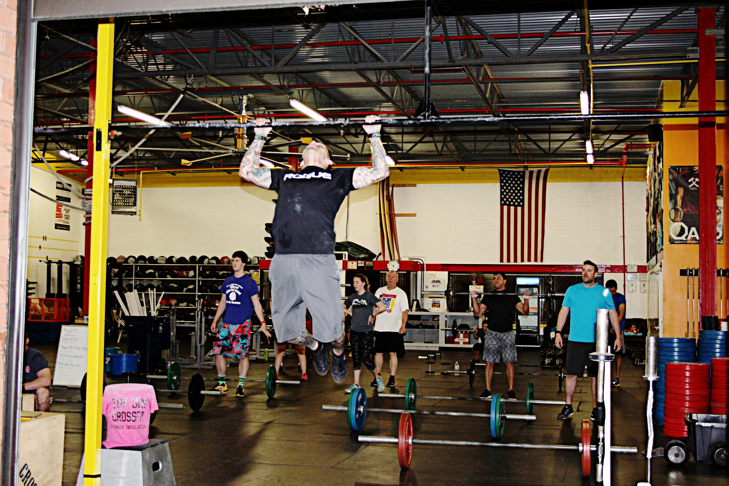 """""""Earn your results; Know your numbers. You must record your scores from the WOD's in some manner. That way when your Coach asks, """"what was your time, last time?,"""" or """"what is your 1RM Back Squat?"""", you can answer without a hitch."""" - -Coach A"""