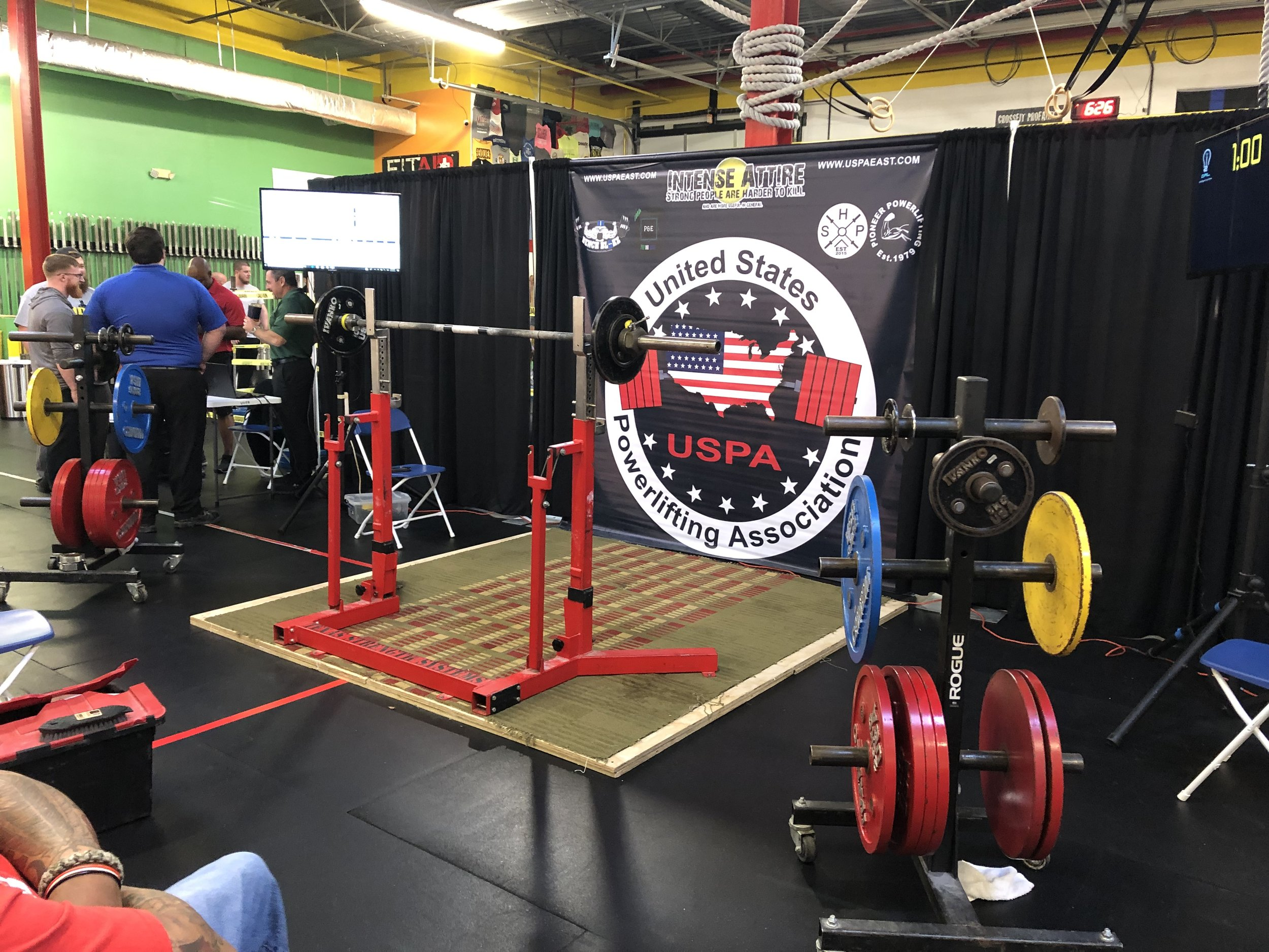 Our next Powerlifting meet will be held March 9th, 2019 from 8am to 6pm. We need volunteers to run a smooth, quick and successful meet. Please select the following link to sign-up for volunteering,  MARCH 9TH, 2019 meet volunteer .