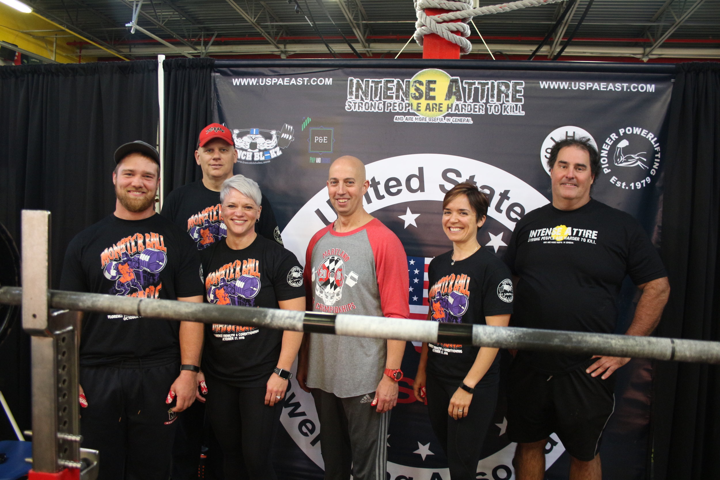 Thanks to our loaders/spotters during the USPA East, Maryland State Championships. We hope the Athlete's know how special you are in the success of their safety!!! We need volunteers for our next meet scheduled on March 9th, 2019 from 8am until 6pm. Details on the positions available can be found  HERE.