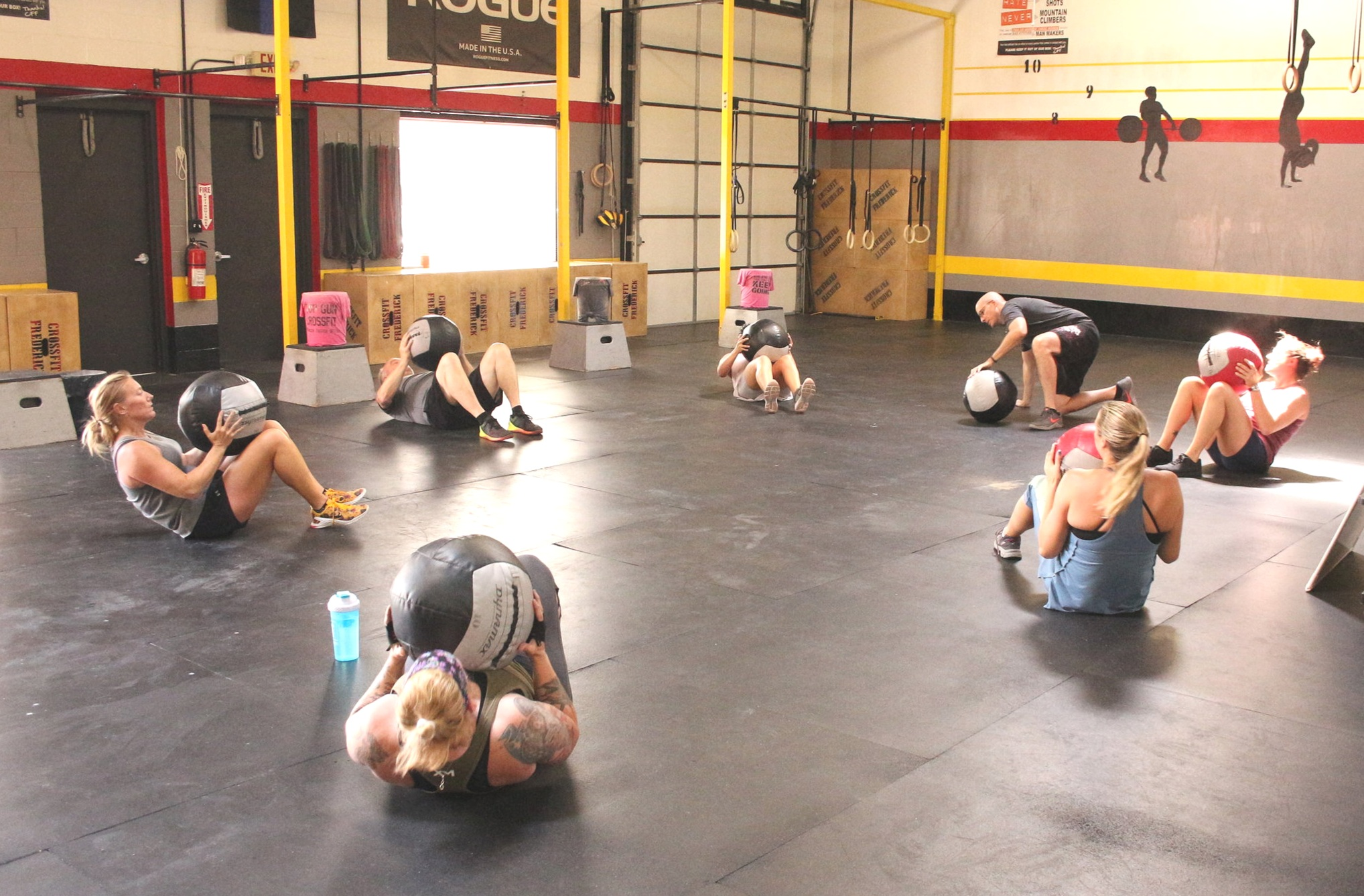 Strength Training Class.