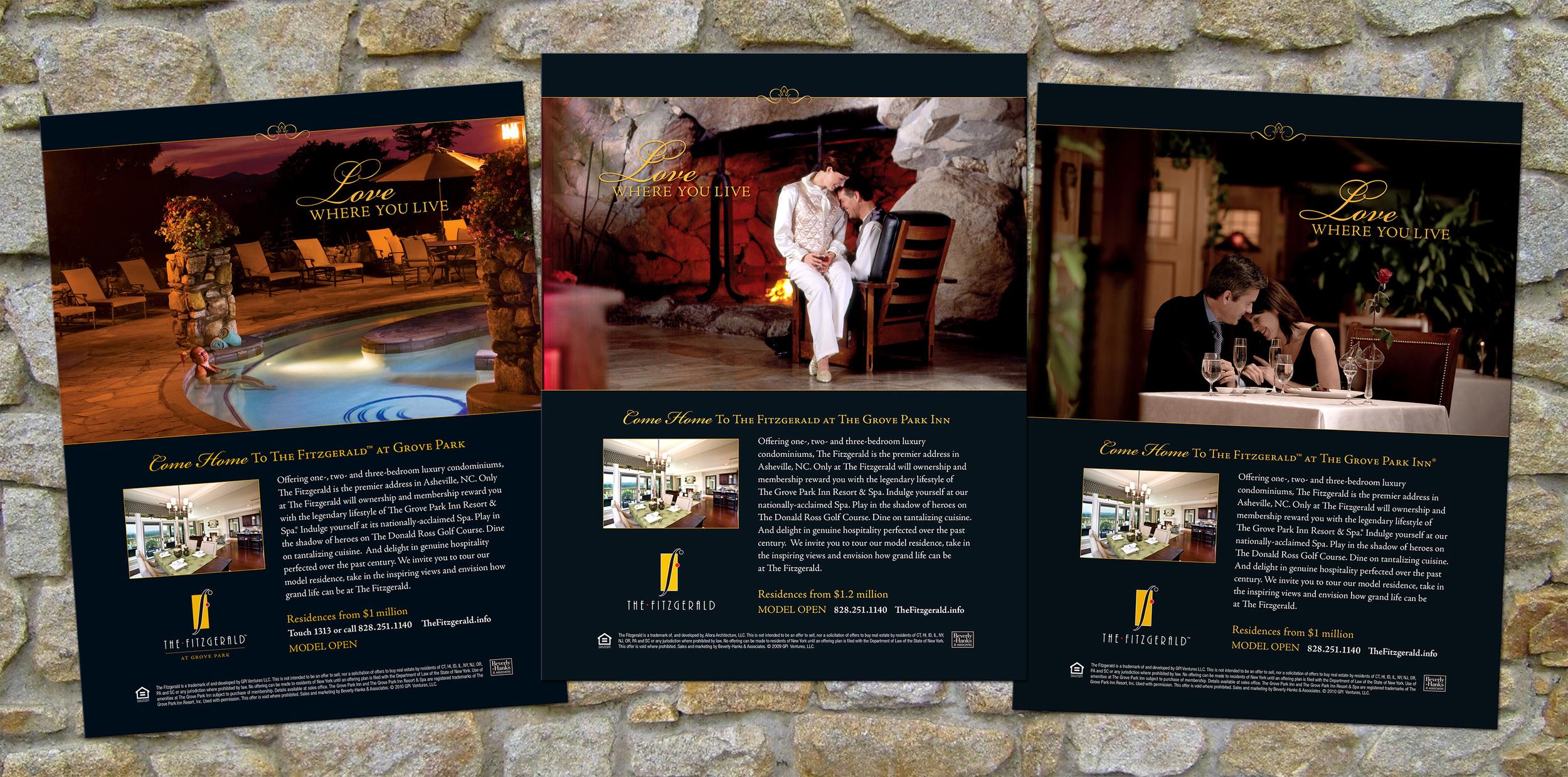 "The Fitzgerald ""Love Where you Live"" Ad Campaign"