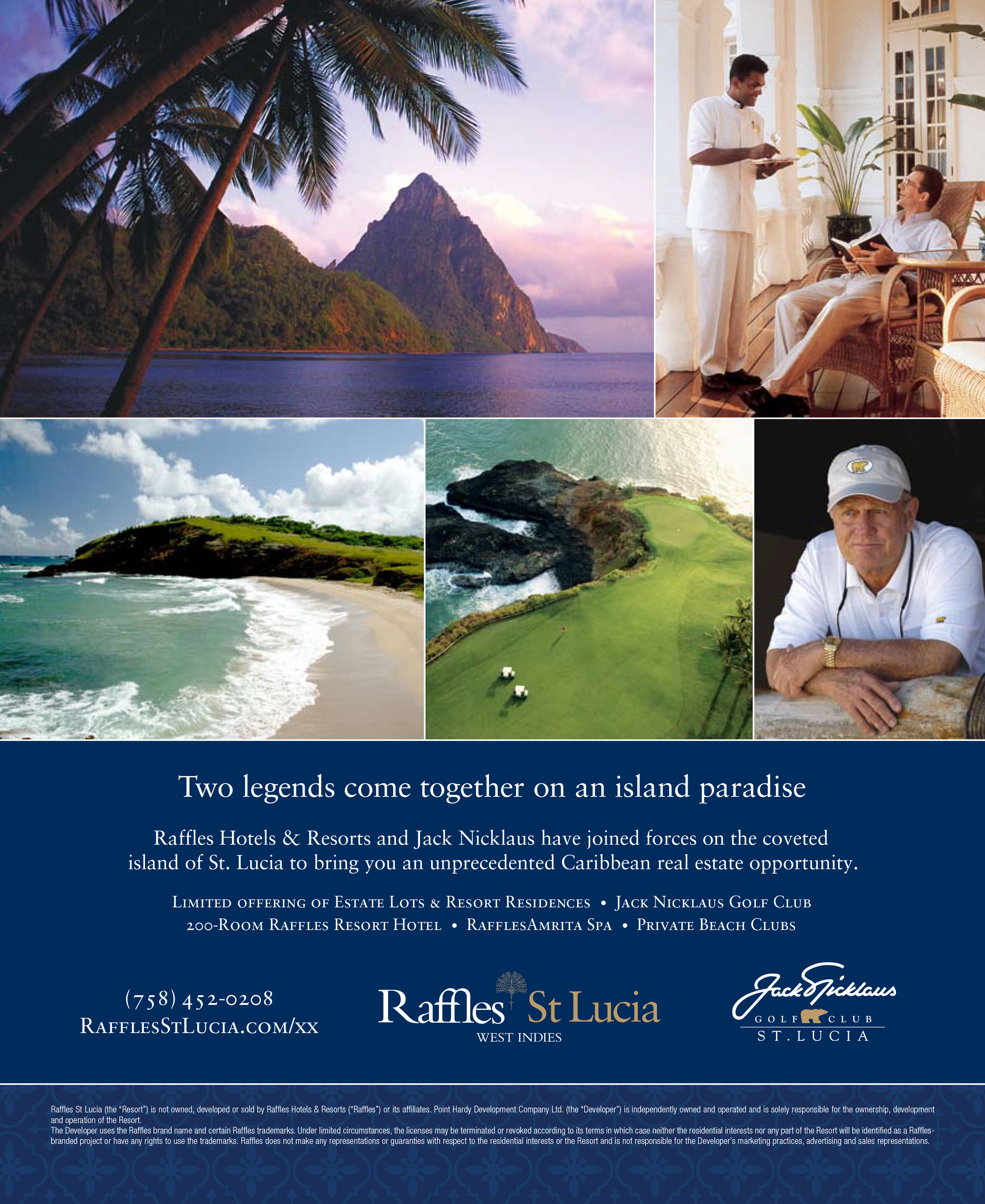 """St. Lucia """"Legends"""" Ad"""