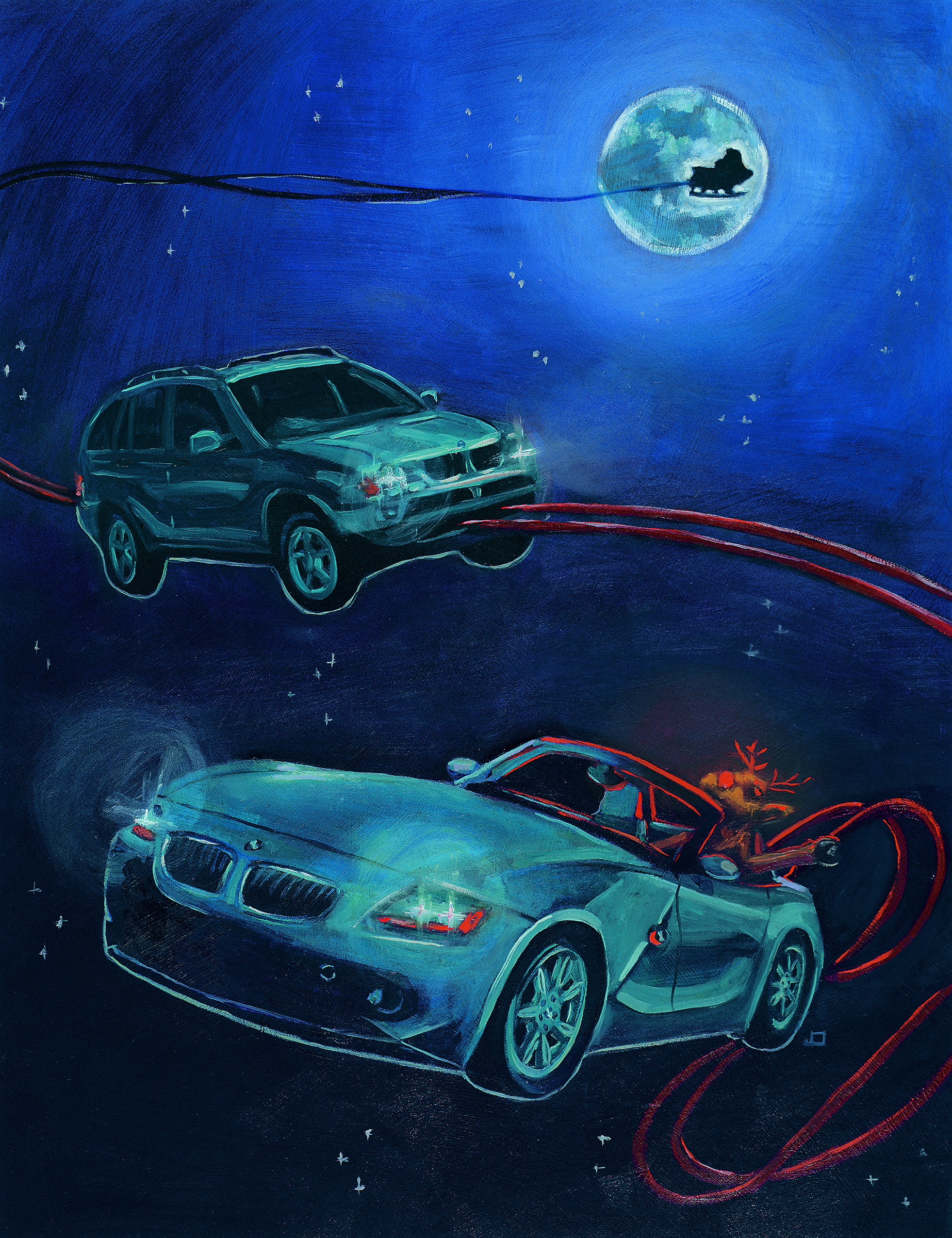 BMW US Factory Christmas Card Cover