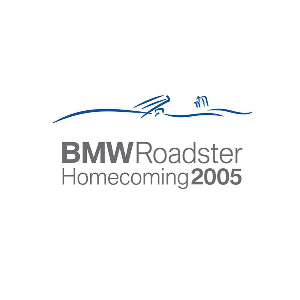 BMW Roadster Homecoming 2005 Logo