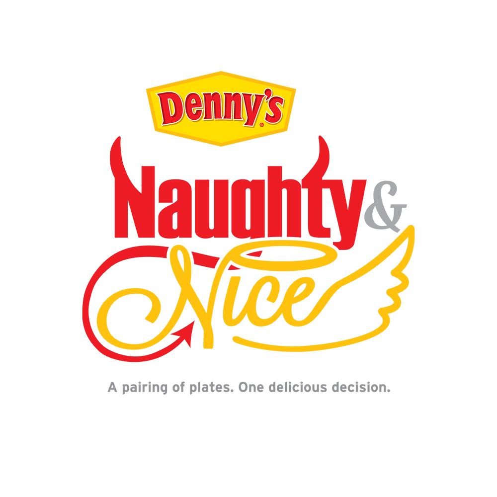 Denny's Naughty & Nice Menu Logo