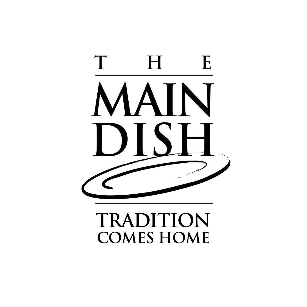 The Main Dish Logo