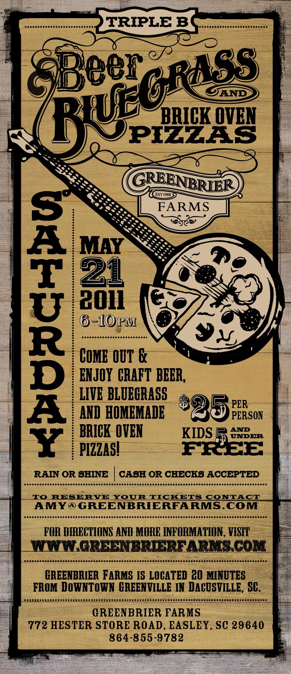 Greenbrier Farms Triple B 2011 Ad