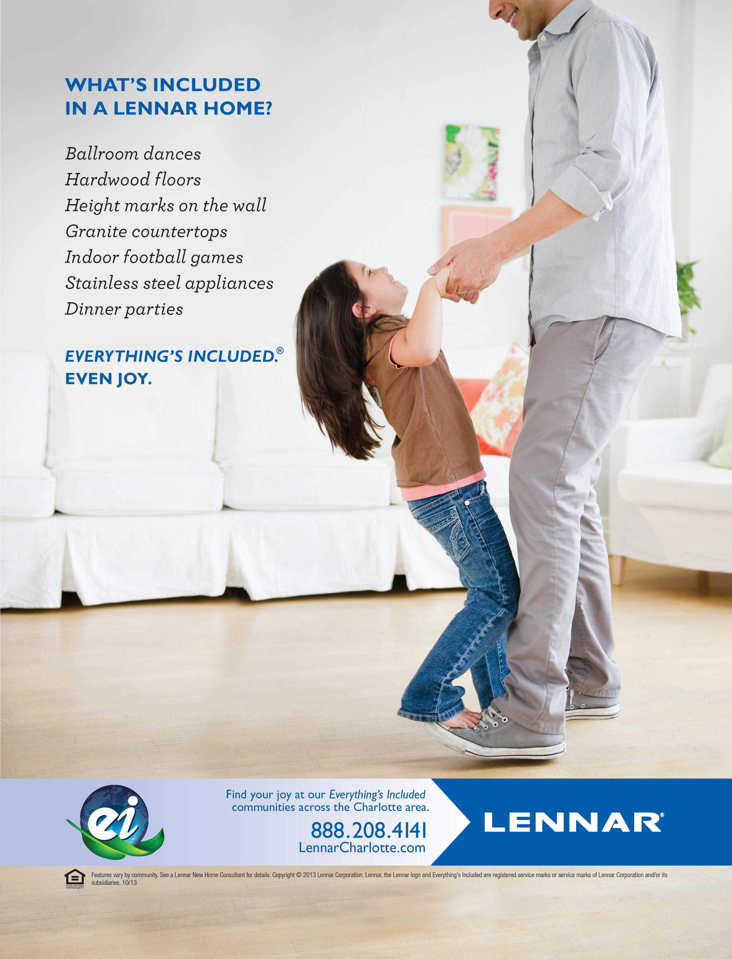 """Lennar Homes """"Everything's Included"""" Ad"""
