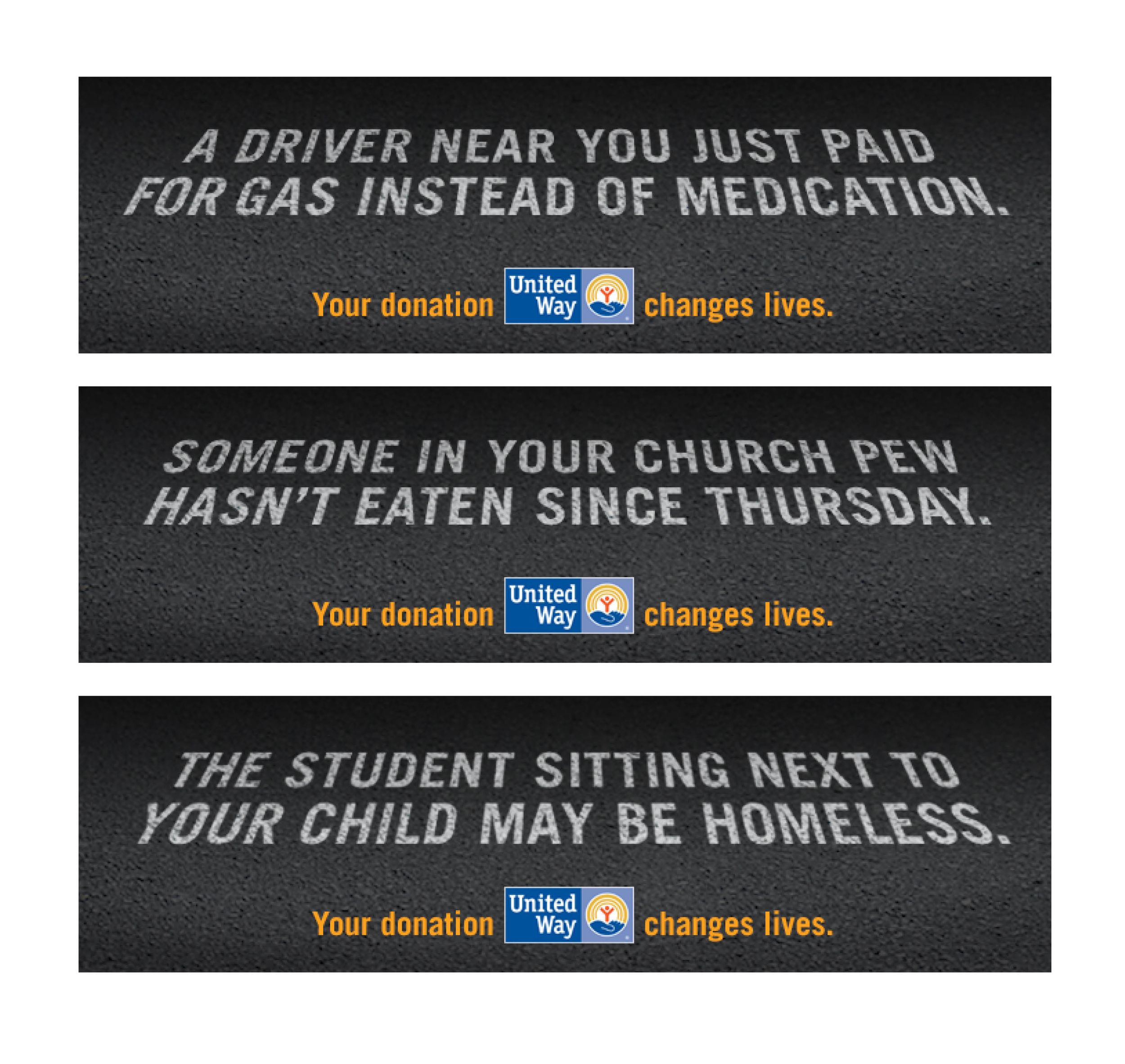 United Way of Greenville County 2013 Campaign Outdoor Boards