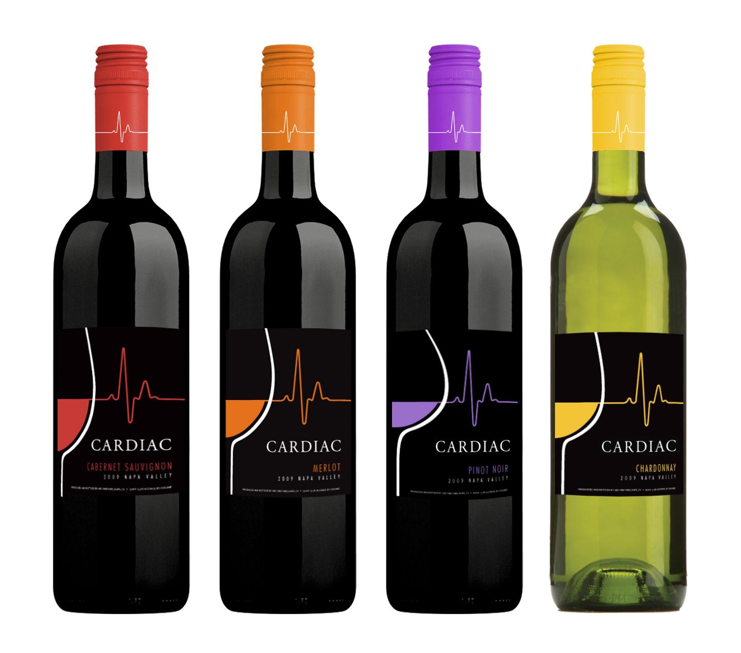 Cardiac Wines Label & Wraps