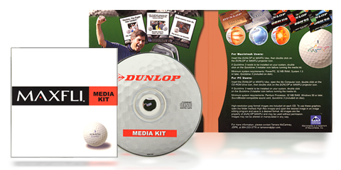 Dunlop/Maxfli Golf Media Kit