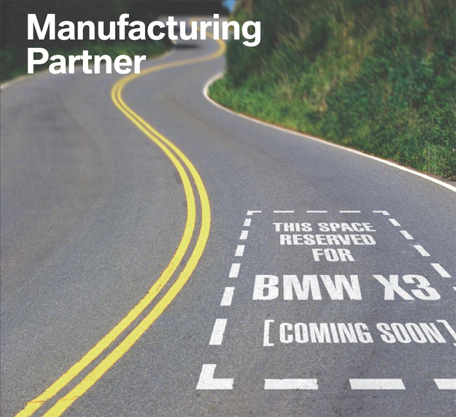BMW Manufacturing Partner Poster