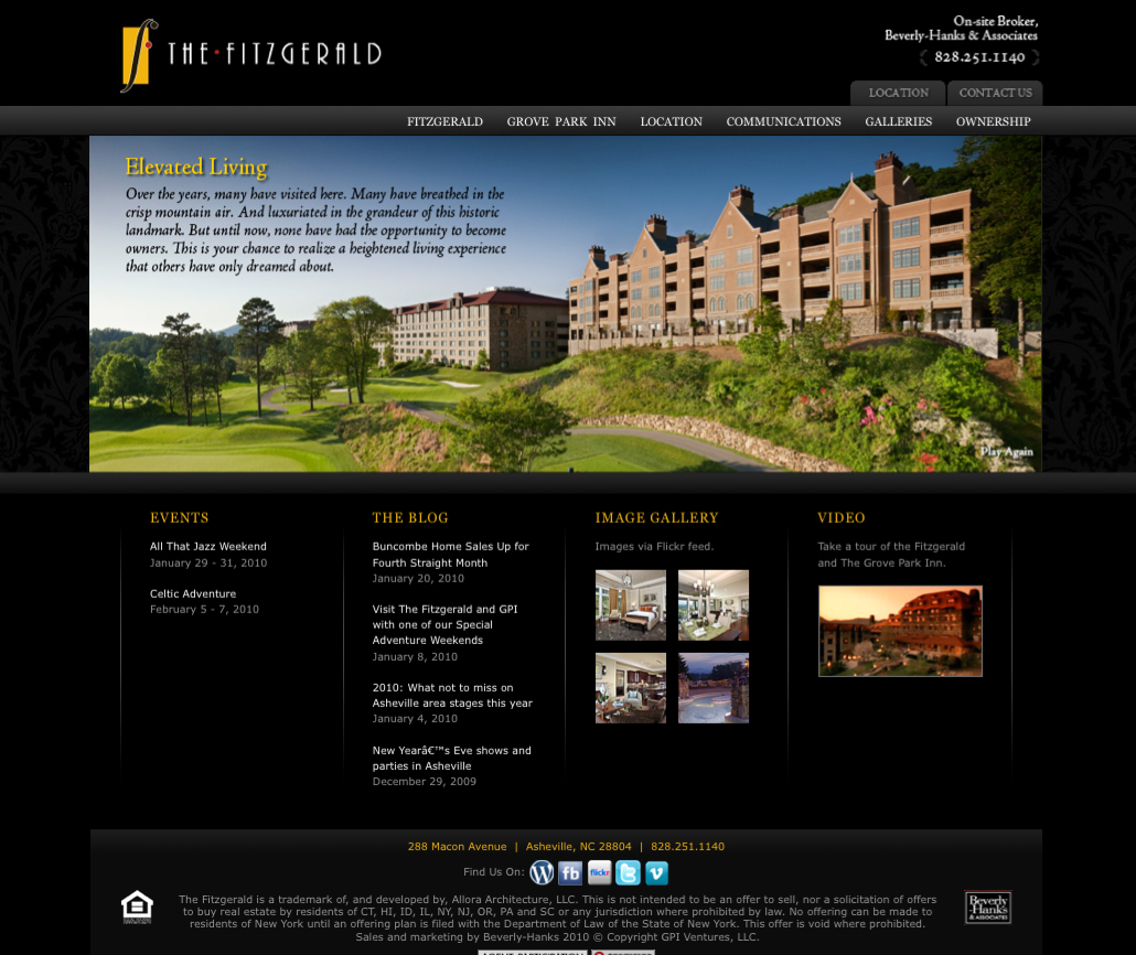 The Fitzgerald Web Site Home Page