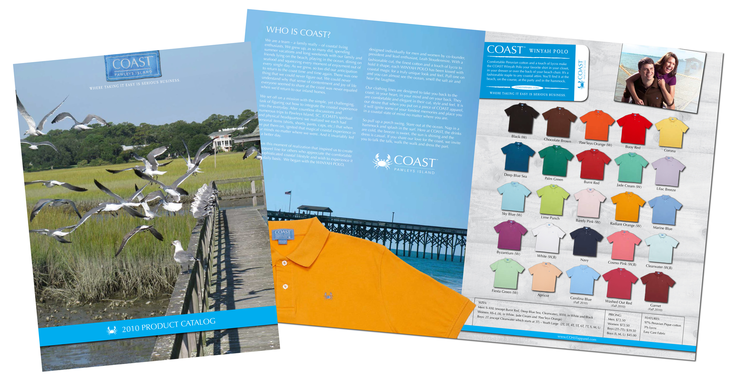 COAST Apparel 2010 Product Catalog