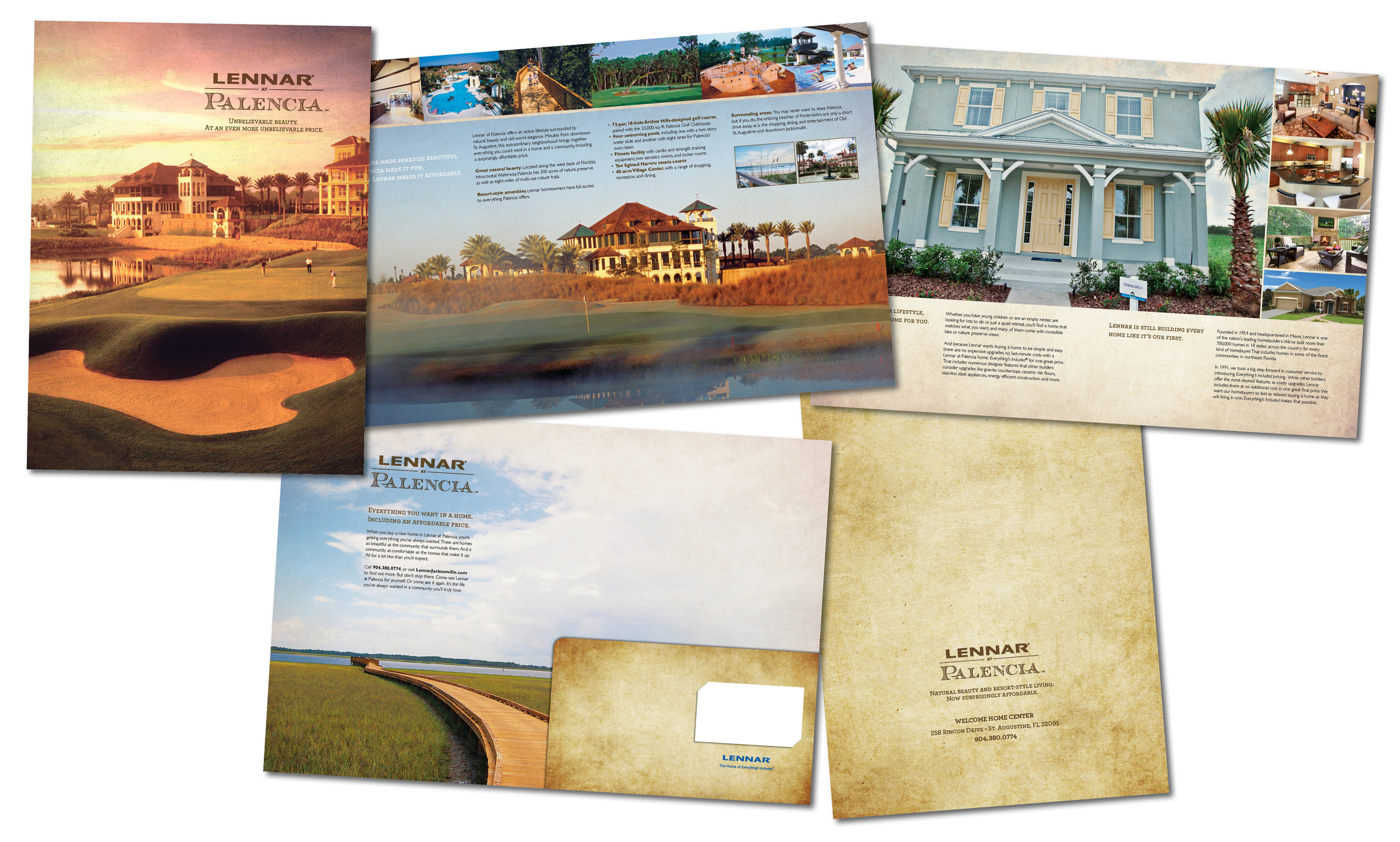 Lennar Palencia Resort Community Brochure