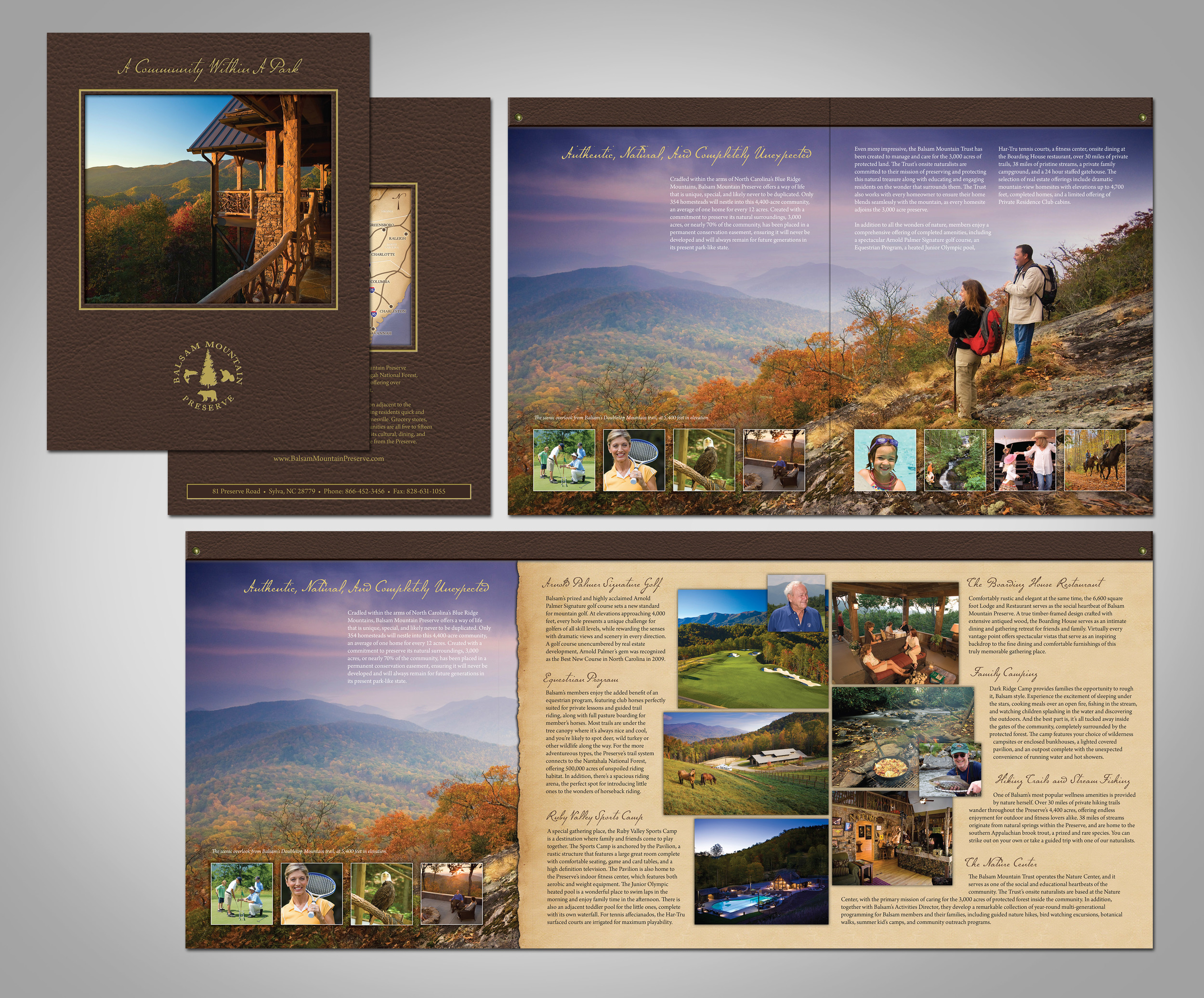 Balsam Mountain Preserve Lifestyle Brochure