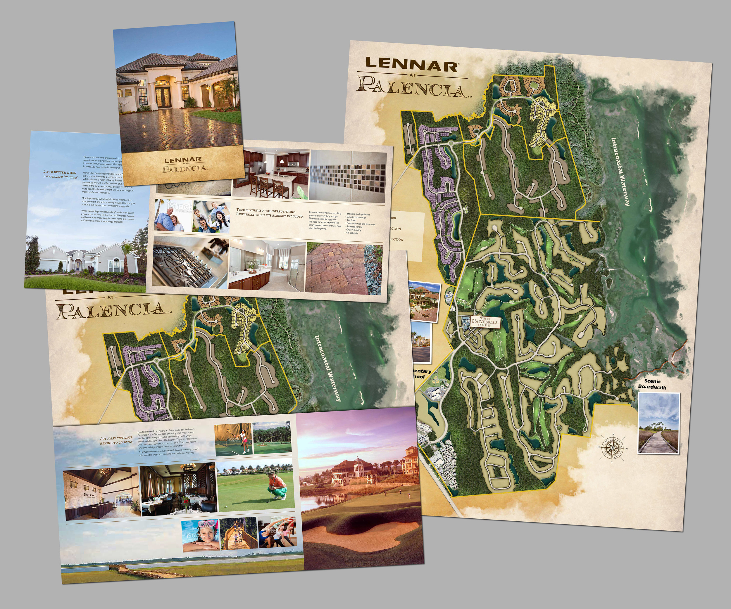 Lennar at Palencia Lifestyle Brochure & Site Map