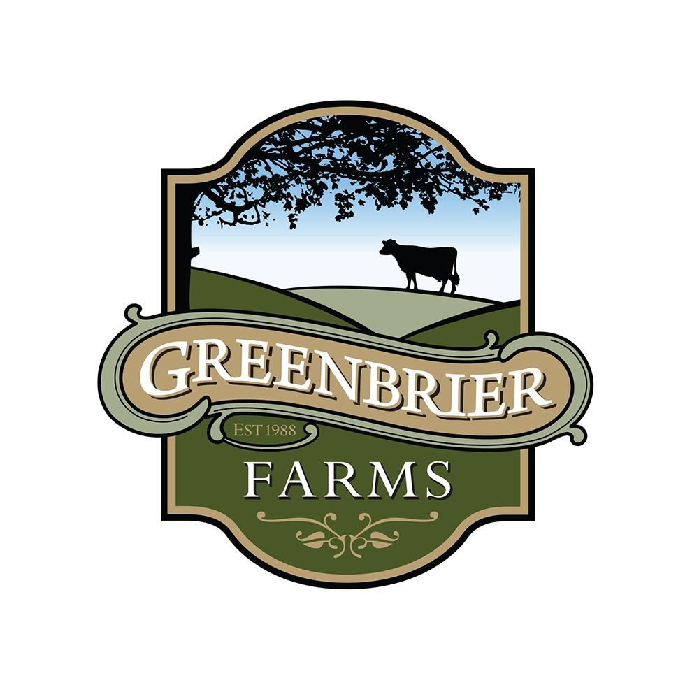 Greenbrier Farms Primary Logo