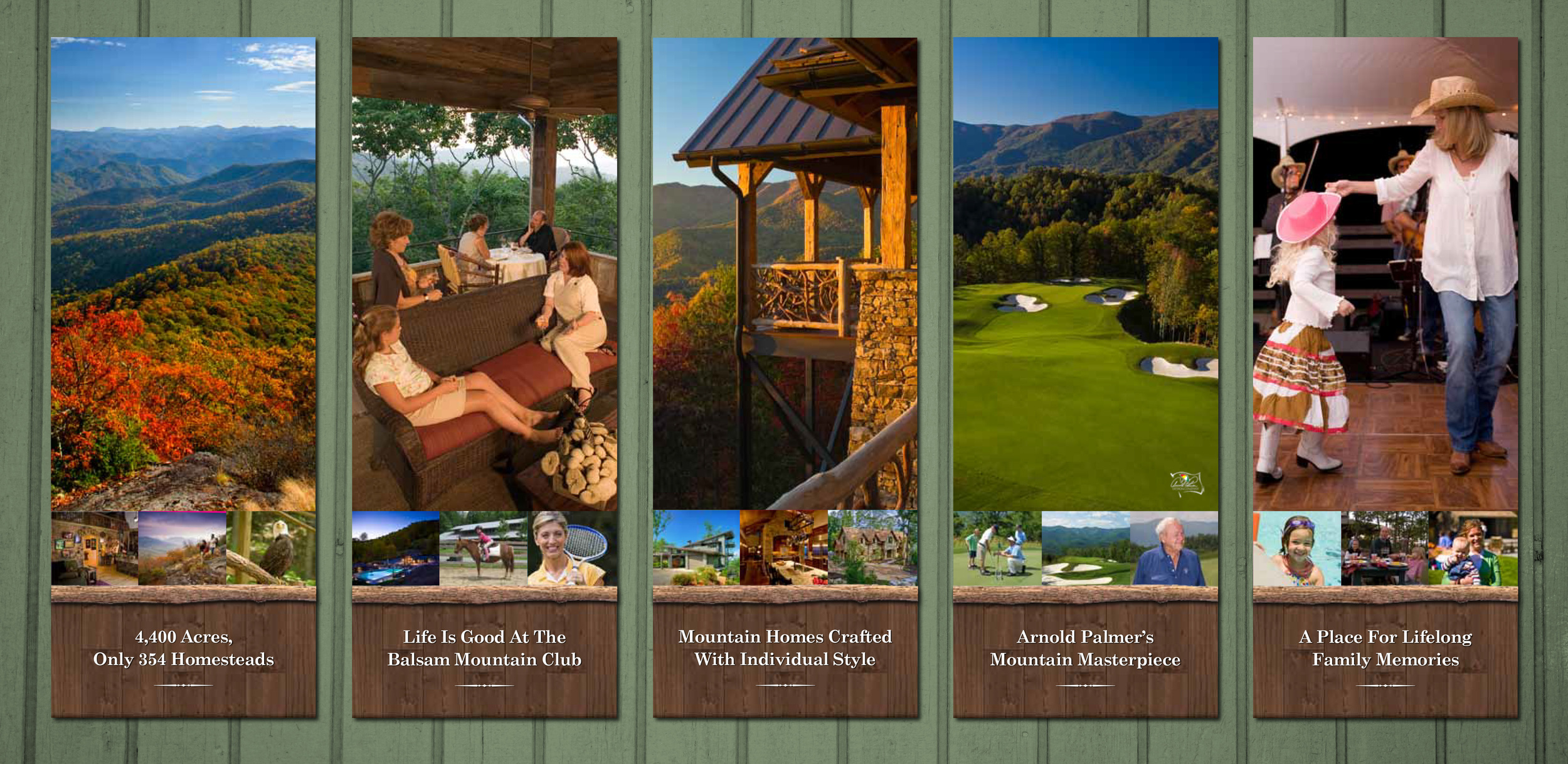 Balsam Mountain Preserve Sales Office Graphics
