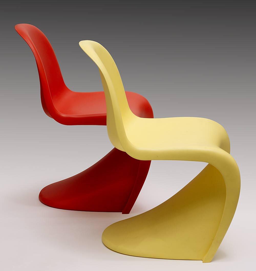 Verner Panton Panton Chairs, Manchester Art Gallery, Copyright VITRA, photography Michael Pollard