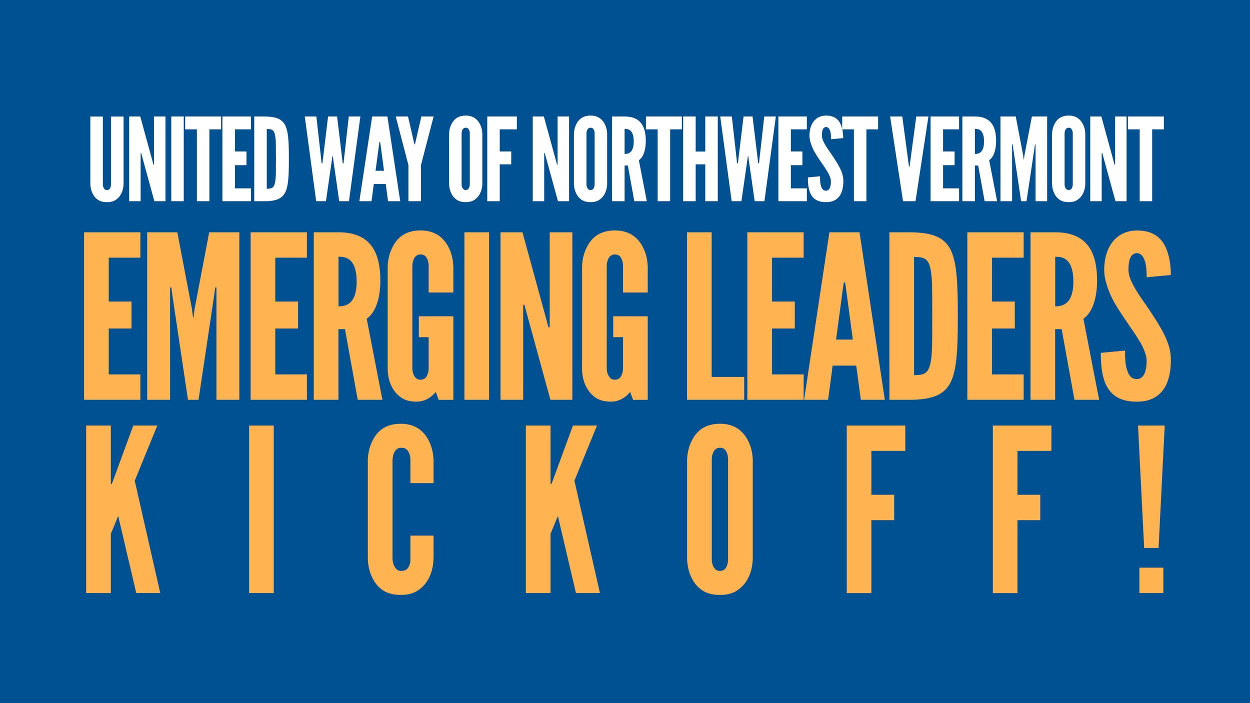 emerging leaders kickoff united way