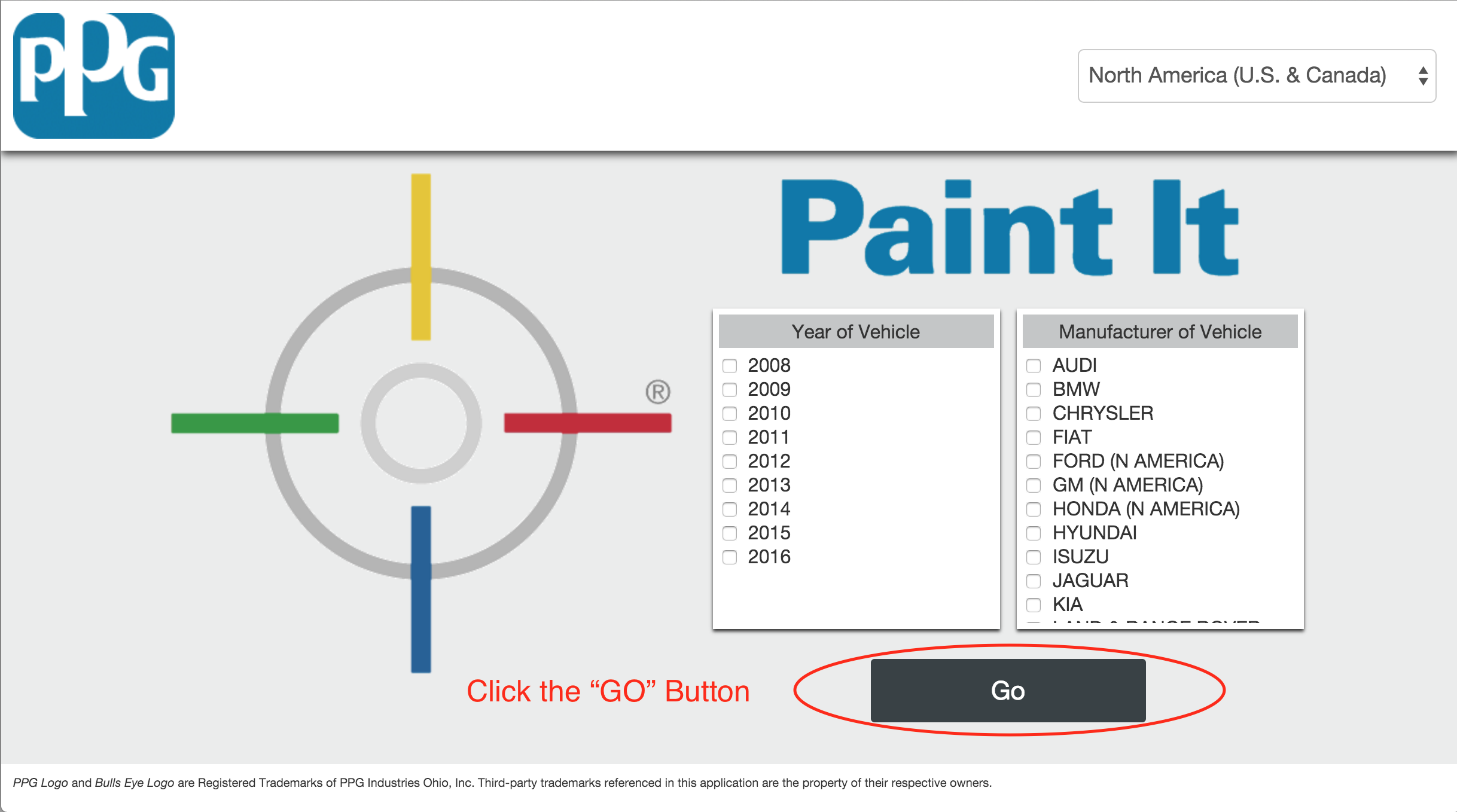 PPG Paint It Main Screen.png